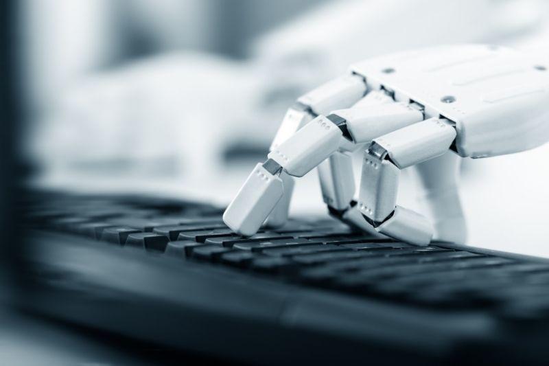 chatbot escribiendo